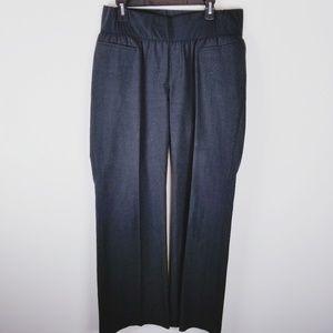 Gap maternity boot dress career work pants 14 long
